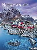Norwegen 2017 - Norway 2017, teNeues Landschaftskalender, Spektakulärer Posterkalender Skandinavien - 48 x 64 cm