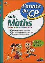 Cahier de Maths CP : L'année du CP