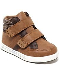 Highcut Sneaker Klett Schuhe für Jungen und Mädchen TWEED STYLE
