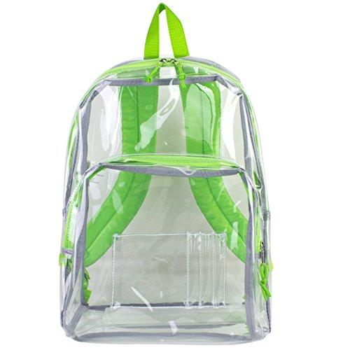 eastsport-zaino-chiaro-trasparente-con-finiture-verde
