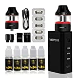 VOVCIG Cigarette Electronique Kit e-cigarette e liquide N40 40w 1600 mAh Box + 2 X Top Fill Atomiseur 2ml +5 x Résistance 0,3...