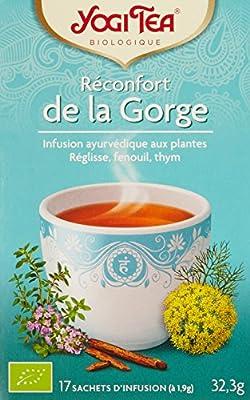 Infusion Bio Réconfort de la gorge 17 sachets - Lot de 3