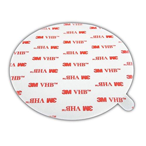 Preisvergleich Produktbild 3M 4950 VHB doppelseitiges Klebeband Montage Klebestreifen Klebepads Durchmesser 100mm 5 Stück