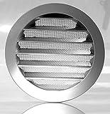 Klimapartner WSGG 100 - Griglia Ventilazione Alluminio Rotondo