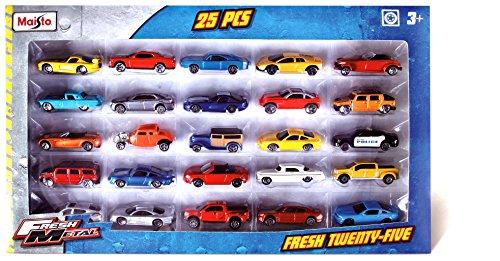 Metal 25er Set 7,5 cm Autos ()