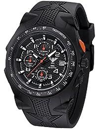 KHS Uhr Sentinel AC Black Rubber Black KHS.SEACB.S *** Neuheit 2015 ***