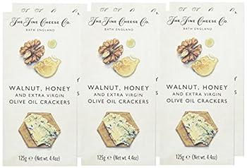 THE FINE CHEESE COMPANY Cracker Noix Miel/Huile d'Olive - Lot de 6