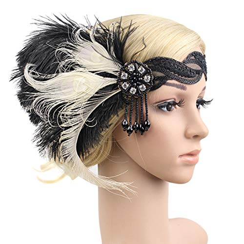 Flapper Gatsby Headband 1920s He...