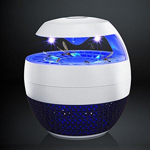 LED Photokatalysator Tragbarer Moskito-Killer Haushalt Mückenschutz-Artefakt Mückenbekämpfung im Innenbereich Leise strahlungsfrei Elektrische Mücke Plug-in-Typ