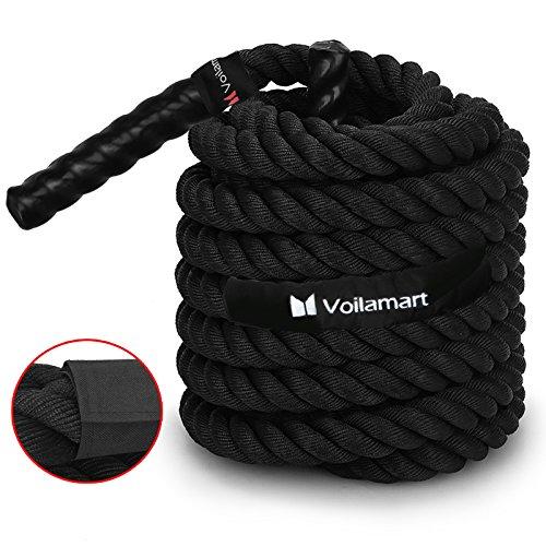 Voilamart Battle Rope 38mm 12m Corde...