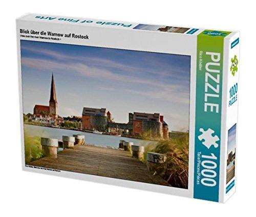 Preisvergleich Produktbild Blick über die Warnow auf Rostock 1000 Teile Puzzle quer: Blick über den Fluß Warnow auf Rostock (CALVENDO Orte)