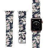 Gimartuk Silikon Band für Apple Armbanduhr 42mm 38mm, iWatch Sport Soft Silikon Ersatz Armbänder Tragegurt für Apple Watch Serie 3Serie 2Serie 1klein groß, Damen, WF-415, B, 42mm Small