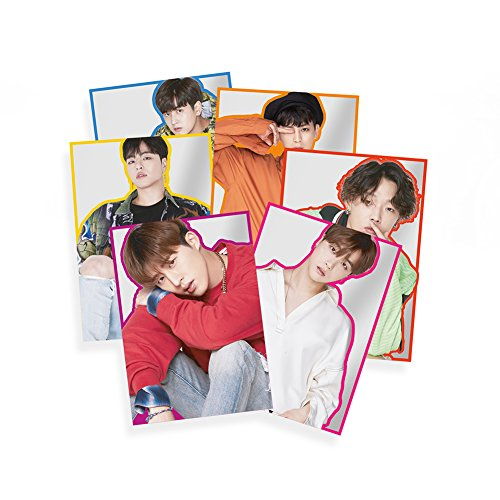 YG Entertainment Idol Goods Fan Products YG Select iKON KOLORFUL POSTER SET
