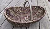 Nutley's Medium Rustic Willow Vegetable Trug Basket