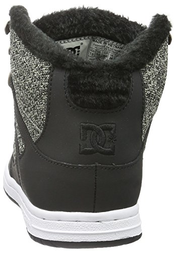 DC Universe Damen Rebound Wnt High-Top Schwarz (Black Dark Used - BKZ)