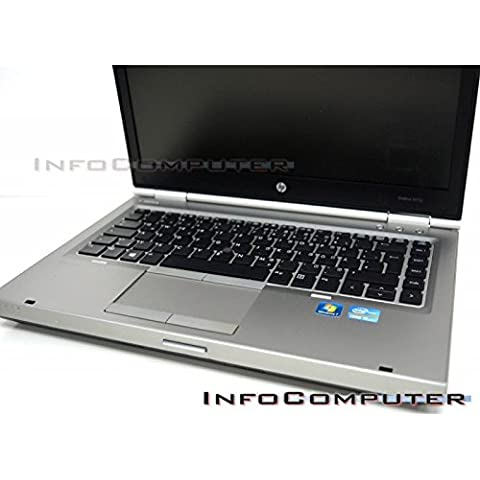 Portátil Hp 8470P Intel Core i5-3320M 2600 Mhz, 8GB RAM 240SSD DVDRW, WIFI WEBCAM, COA WINDOWS 7