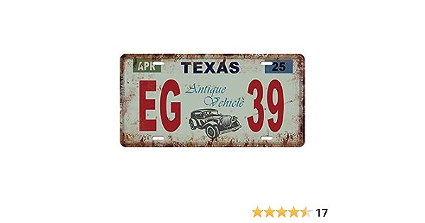 Kesoto Usa Kennzeichen Blechschilder Metallschilder Blechbild Schilder Texas