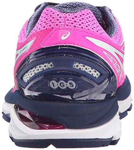 Asics GT-2000 4 Synthétique Chaussure de Course Pink Glow-Soothing Sea-Indigo Blue