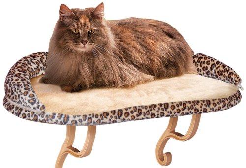 K&H Mascotas | Soporte Gatos | Microfibra Estampado