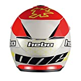 Hebo Trial Zone 5Casque Rouge Taille S