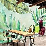 BZDHWWH Handgemaltes Obst Und Gemüse Ernährung Sauce Tee Restaurant Werkzeug Wand Benutzerdefinierte Große Wandbild Tapete Für Weihnachten,90 Cm×60 Cm