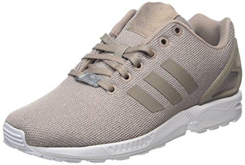 adidas Damen ZX Motion W Laufschuhe, Mehrfarbig (Vapour Grey F16/Vapour Grey F16/Silver Met.), 39 1/3 EU