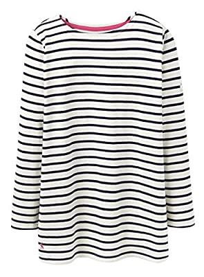 JOULES Ladies New Spring/Summer 2016 Hope Stripe French Navy Stripe HARBOUR Top (U)
