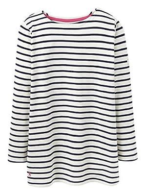 JOULES Ladies New Spring/Summer 2016 Hope Stripe French Navy Stripe HARBOUR Top (U)