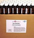 Saunaduft Box BIG/Saunaaufguss Set mit 50 x 15 ml Flaschen + gratis 10 g Mentholkristalle