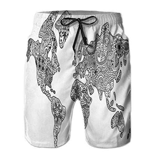 Men 's Quick Dry Summer Beach Tabla Surf Swim Shorts