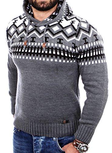 Reslad Norweger Pullover Herren Winterpullover