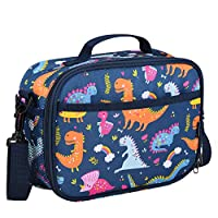 Momcozy Lunch Bag for Kids & Adult, Insulated Lunch Box Snack Box with Strap for Boys & Girls, Child Thermal Tote Cooler Bag Portable Leak Proof for School Picnic Outdoor or Work
