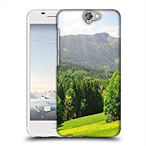 Snoogg Green Trees Designer Protective Phone Back Case Cover for HTC one A9