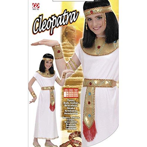 tüm Antike Pharao Faschingskostüm 140 cm 8-10 Jahre Pharaonin Cleopatrakostüm Cleopatra Kostüm Karnevalskostüme Kinder Mädchen 1003 Nacht Faschingskostüm Ägyptische Königin Kleid ()
