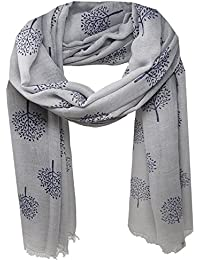 f8ac991062f04 Amazon.co.uk: Silver - Scarves & Wraps / Accessories: Clothing