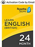 Rosetta Stone: Learn English (British) for 24 months on iOS, Android, PC, and Mac 24 month PC/Mac Online Code