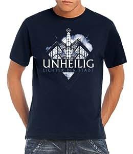 Unheilig - Lichter der Stadt - Navy T-Shirt Navy, S
