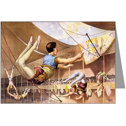 12nota carte di un circo trapezk &