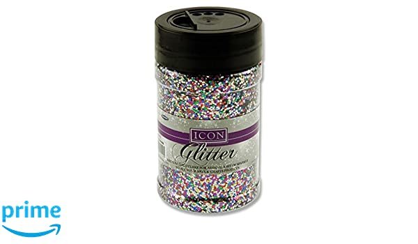 Icon 110g Glitter Red IDEAL FOR ARTS /& CRAFTS