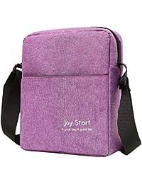 Boomly Unisex Casual Cross Body Bag For Man Women Shoulder Bag Lightweight  Nylon Cross Body Bag 648431353d975