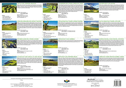 Golf 2018 - Sportkalender / Golfkalender international (49 x 34) - 2