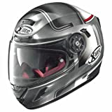 X-lite X-702GT Start Integralhelm Motorrad Verbundfaser n-com - verkratztes Chrom Größe M