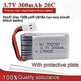 Bescita 1 Stücke 3,7 V 300 mAh Lipo Batterie für Hendy1306 YouDiU816 DiFeida F180FY530 RC Quadcopter