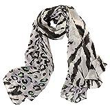 Schal wrap Schal Animalprint, 3 Farben, Gewicht Kragen Schal