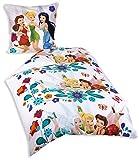 Herding 441842050521 Bettwäsche Disneys Fairies, Kopfkissenbezug: 80 x 80 cm plus Bettbezug: 135 x 200 cm, 100% Baumwolle, Renforce
