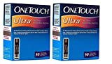 #9: OneTouch Ultra 100 Strips Box (2 Pack of 50 each)