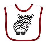 Zebra clipart Bavoir–Chiffon mignon bébé, bavoir, bavoir, coton doux Serviette salive Bavoirs pour bébé