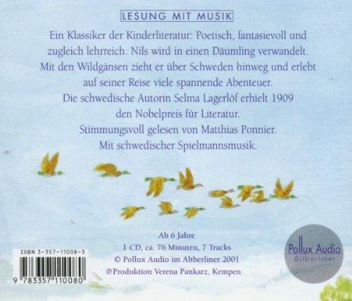 Nils Holgerssons wunderbare Reise durch Schweden, 1 Audio-CD: Alle Infos bei Amazon