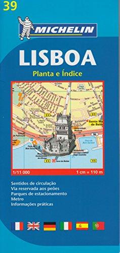Plano Plegable Lisboa (Planos Michelin) por Vv.Aa
