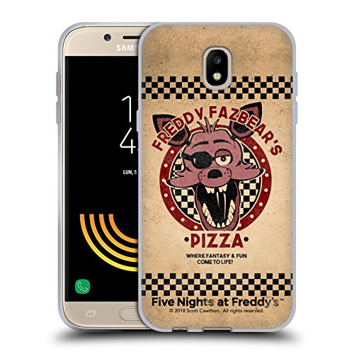 Official Five Nights At Freddy's Foxy Freddy Fazbear's Pizza Soft Gel Case for Samsung Galaxy J5 (2017)